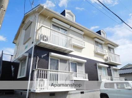 鹿児島県姶良市、姶良駅徒歩18分の築21年 2階建の賃貸アパート
