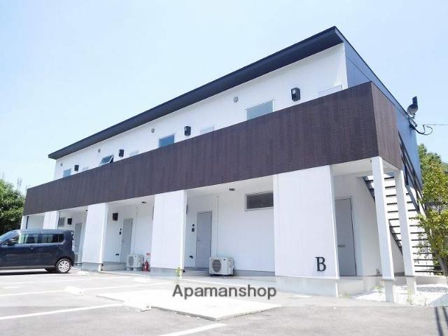 鹿児島県姶良市、重富駅徒歩20分の新築 2階建の賃貸アパート