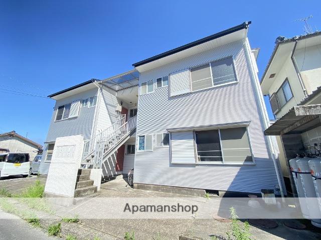 鹿児島県姶良市の築26年 2階建の賃貸アパート