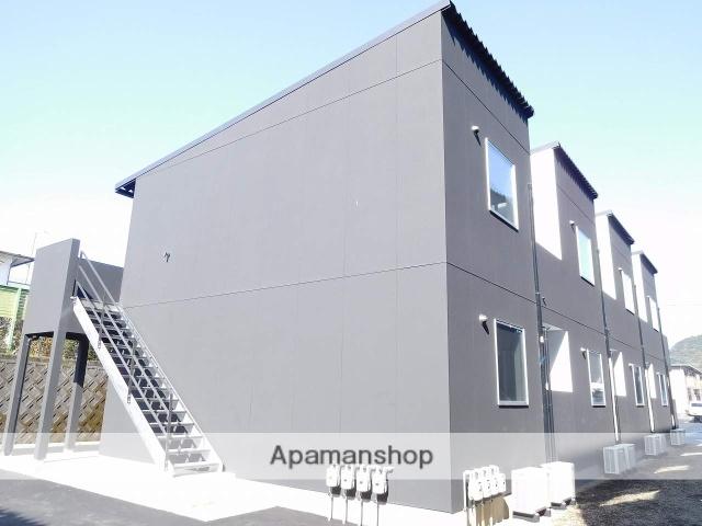 鹿児島県姶良市、帖佐駅徒歩12分の新築 2階建の賃貸アパート