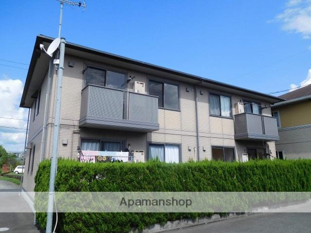 鹿児島県姶良市、錦江駅徒歩6分の築14年 2階建の賃貸アパート