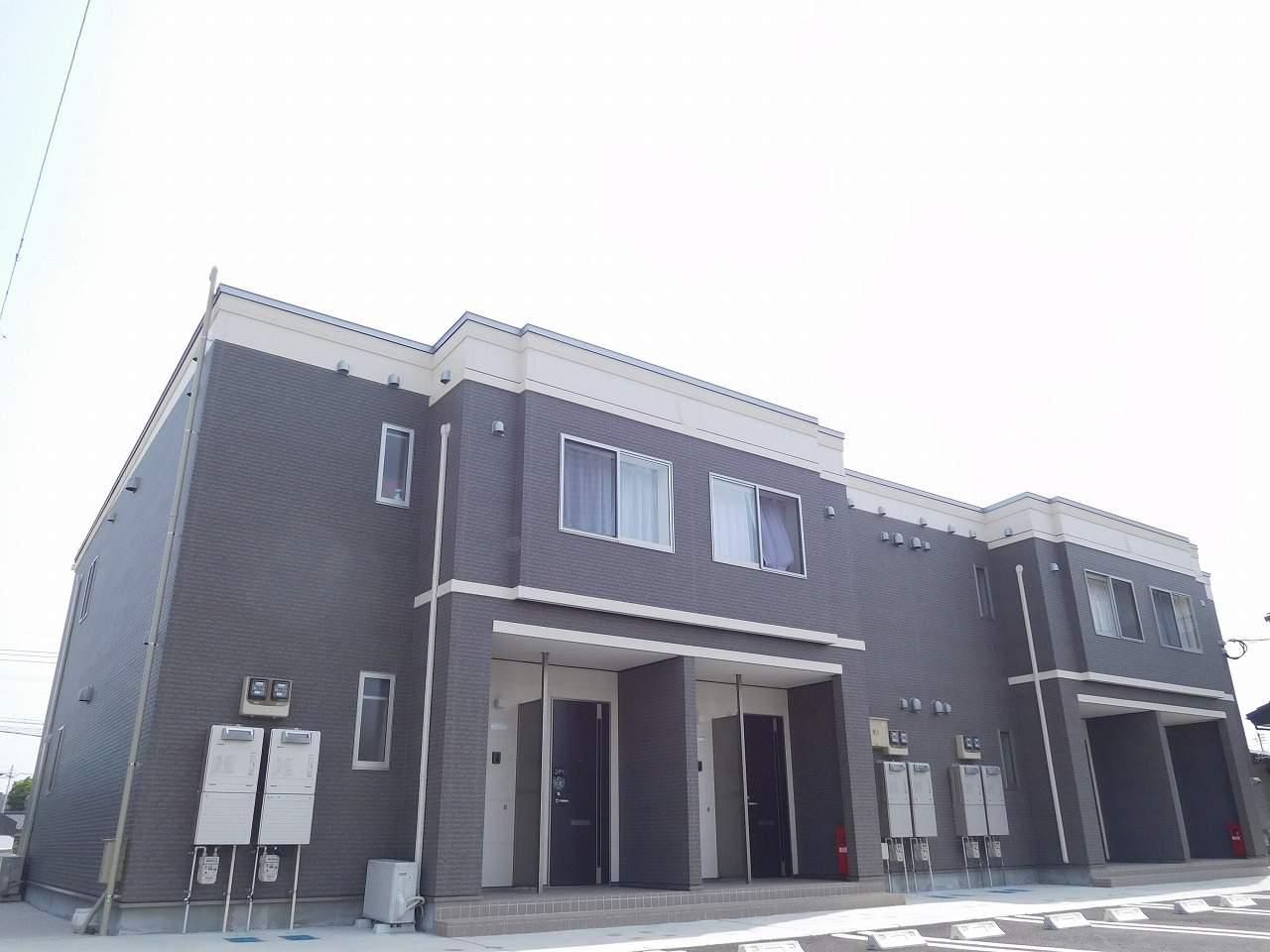鹿児島県姶良市、加治木駅徒歩19分の新築 2階建の賃貸アパート