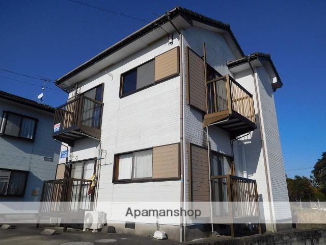 鹿児島県姶良市、錦江駅徒歩17分の築20年 2階建の賃貸アパート