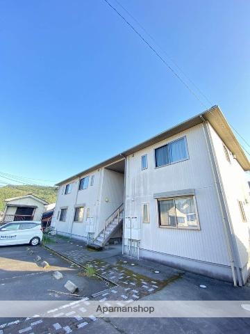 鹿児島県姶良市、加治木駅徒歩3分の築13年 2階建の賃貸アパート
