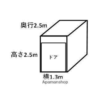 トランクルーム沖縄Ⅲ[1R/3.3m2]の間取図