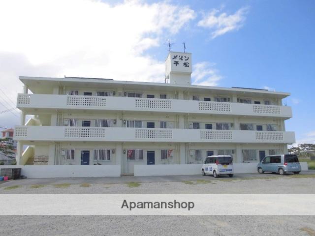 沖縄県国頭郡宜野座村の築25年 3階建の賃貸アパート