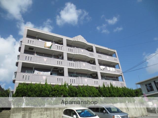 沖縄県島尻郡与那原町の築13年 4階建の賃貸マンション